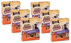 6 Pack Three Dog Bakery GrainFree Wafer Baked Dog Treat Sweet Potato 13Ounce each *** Check out this great product.