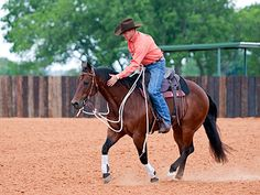 Downunder Horsemanship | Training Tip of the Week: When riding a colt for the first time, act like you've been drinking.
