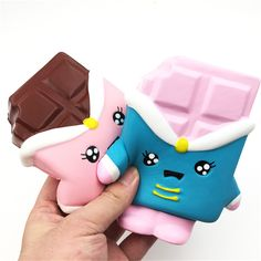 Squishyfun Chocolate Squishy 13cm Slow Rising With Packaging Collection Gift Decor Soft Toy