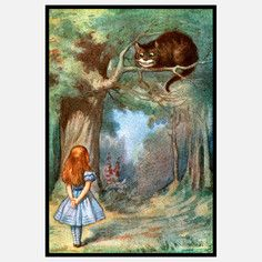 Alice In Wonderland Framed VI, $119, now featured on Fab.