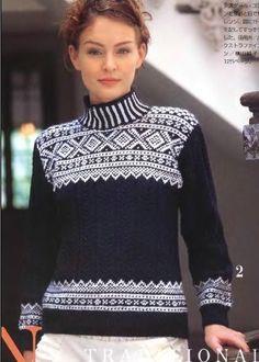 свитер жаккард схемы