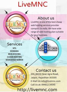 LiveMNC is the best VPS web hosting, Dedicated web hosting, and Cloud web hosting provider and Data Center http://livemnc.com/ WWW.LIVEMNC.COM Contact us : 9461234545