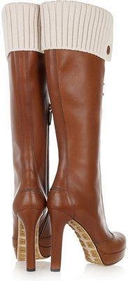 Shoes / Gucci Knee Boots  2013 Fashion High Heels 