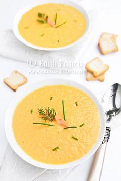 supa crema de somon