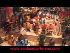 Video of a Christmas market in Vienna in front of the town hall, the Rathaus Christkindlmarkt, by Santa's Quarters.