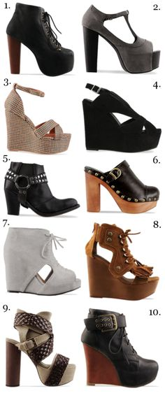 i love me some jeffrey campbells- from my friends blog- check it out thefashionlily.com