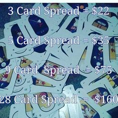 My original prices per tarot card readings.  call DM text I accepted in any way I do text DM or chat readings don't waste another minute contact me today for a better tomorrow get life changes today #TagsForLikes #TagsForLikesApp #TFLers #tweegram #photooftheday #20likes #amazing #smile #follow4follow #like4like #look #instalike #igers #picoftheday #food #instadaily #instafollow #followme #girl #medium #instagood #tarotcards #psychicsofinstagram #referafriend #psychicreading ##buddha…