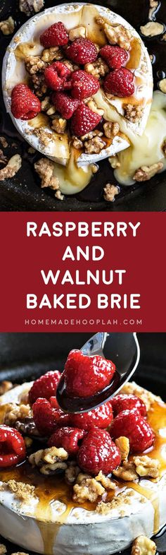 Raspberry and Walnut