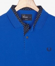 Polka Dot Trim Shirt  FW14/15 - Fred Perry