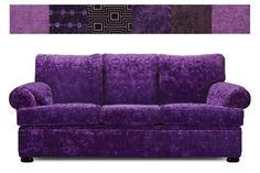 """The Classic"" Purple Sofa"
