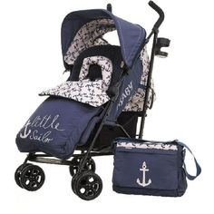 OBaby Zeal Stroller-Little Sailor (New) Whether you want a suitable from birth stroller, the added comfort of a carrycot or the versatility of a travel system, the Zeal stroller effortlessly grows with your baby and along with the variety o http://www.MightGet.com/march-2017-1/obaby-zeal-stroller-little-sailor-new-.asp