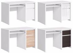 New 1 Door 1 Drawer Desk 4 Fronts Options   Home Office/Study Furniture KASPIAN