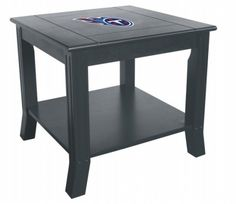 Tennessee Titans Living Room/Office End/Side Table