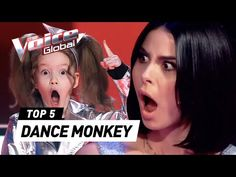 """Incredible """"DANCE MONKEY"""" covers in The Voice Kids - YouTube You Tude, Animal Costumes, Hit Songs, New Movies, The Voice, Monkey, Music Videos, The Incredibles, Dance"""