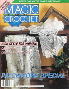 Magic crochet № 81 - Edivana - Picasa ウェブ アルバム Knitting Books, Crochet Books, Thread Crochet, Crochet Doilies, Crochet Lace, Crochet Instructions, Crochet Diagram, Crochet Chart, Filet Crochet