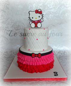 Hello kitty cake | Le sucre au four