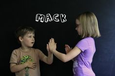 Miss Mary Mack - Classic Play! Use for spelling words or for funny rhymes...