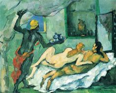 Afternoon in Naples - Paul Cezanne