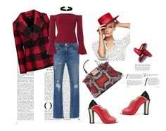 """""""Untitled #642"""" by maricelmartinez on Polyvore featuring Line, 3x1, Alexis, Fendi and Anissa Kermiche"""