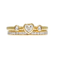 Stunning diamond and 18ct gold double band ring.  For more details or to book your studio visit, telephone 0207 430 2070 or email info@sophieharley.com  Discover more from Sophie Harley: www.sophieharley.com