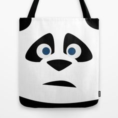 EL Panda Tote Bag by TROOKEYE DESIGN - $22.00