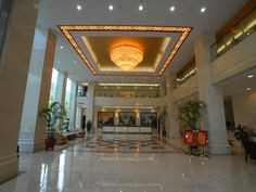 Zhangjiajie Zhangjiajie Jianghan Hotel China, Asia Stop at Zhangjiajie Jianghan Hotel to discover the wonders of Zhangjiajie. The hotel offers guests a range of services and amenities designed to provide comfort and convenience. All the necessary facilities, including free Wi-Fi in all rooms, convenience store, daily housekeeping, gift/souvenir shop, grocery deliveries, are at hand. Guestrooms are fitted with all the amenities you need for a good night's sleep. In some of the ...