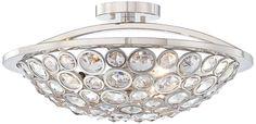 "Metropolitan Magique 18"" Wide Semi-Flush Ceiling Light -"