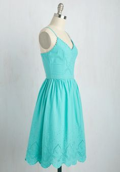 384392a529b Courteous Curtsy Dress in Aqua. Everything you do is sweet as can be