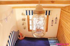 Jak zrobić lampę ze słoika Ball? How to make a lamp from a jar Ball? -tutorial…