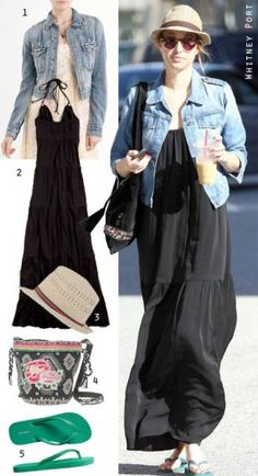 Great Maxi Dress Outfit, for next summer artists walk in Saranac