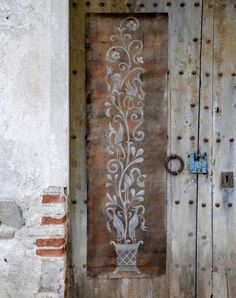 Classic European, Spanish, Italian Wall Mural Art Stencils, from Hearst Castle - Royal Design Studio