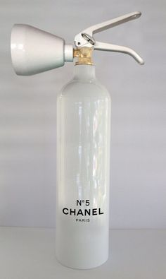 Chanel No 5 fire extinguisher... Niclas Castello Artworks