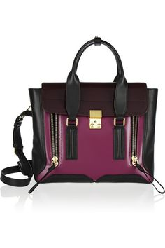 3.1 PHILLIP LIM The Pashli medium leather trapeze bag $950