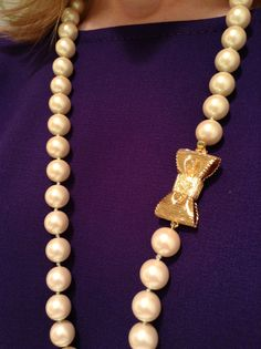 Pearls with my old broaches