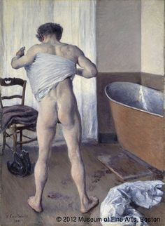 Gustave Caillebotte,Homme au bain,© 2012 Museum of Fine Arts, Boston