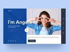 Personal Portfolio - Web UI by Prateek Gupta on Dribbble Layout Design, Website Design Layout, Website Design Company, Web Design Tips, Web Design Trends, Website Designs, Personal Website Design, Layout Site, Web Layout