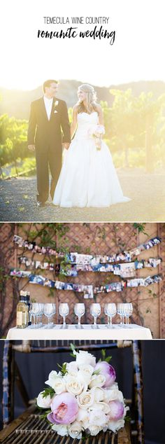 This romantic weddin