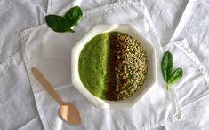 Vihersmoothiekulho ja kehon detox - Green Smoothie Bowl / Sweets by Sini Smoothie Bowl, Smoothies, Palak Paneer, Detox, Sweets, Drinks, Ethnic Recipes, Green, Food