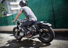 Sehr innovativ ,einfach nur schöner BMW Bobber   Umbau von den kreativen Bobber Fucker Motorcycles !!!                             ...