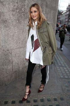Olivia Palermo At London Fashion Week - February 18, 2017