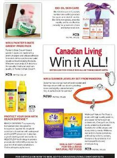 Canadian Living Win It All Contests