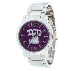 Men's Collegiate Series Watches - TCU - Go Hornfrogs!   65% savings! @Snatch 'N Dash www.snatchndash.com Daily Deals Sites, Deal Sites, Casio Watch, Watches, Accessories, Wristwatches, Clock, Ornament