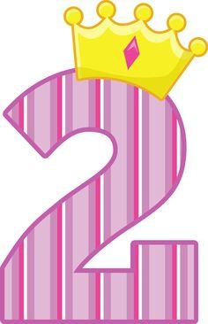 Princesas e Príncipes - PrincessCrownNumbers_2.png - Minus