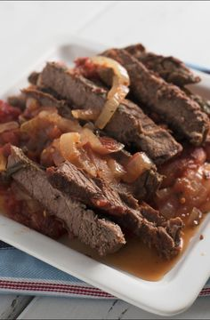 Slow Cooked Swiss Steak Recipe Taste Of Home. Learn How To Cook This Quick Easy Swiss Steak Recipe . Easy And Quick Swiss Steak Recipe Allrecipes Com. Home and Family Slow Cooker Times, Slow Cooker Recipes, Cooking Recipes, Frugal Recipes, Kale Recipes, Slow Cooking, Family Recipes, Cooking Tips, Crockpot