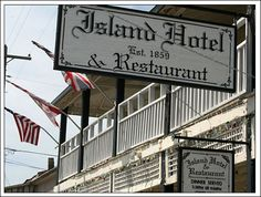 Island Hotel, opened in 1859, Cedar Key, Florida