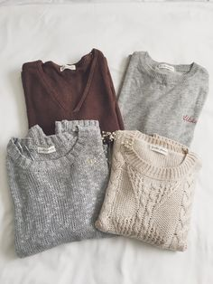 ::♤::dark red/burgundy sweater ~ gray sweater ~ cream sweater ~ gray shirt ::♤::