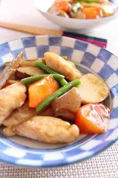 とろ~りあんのささ身と根菜の煮物の画像