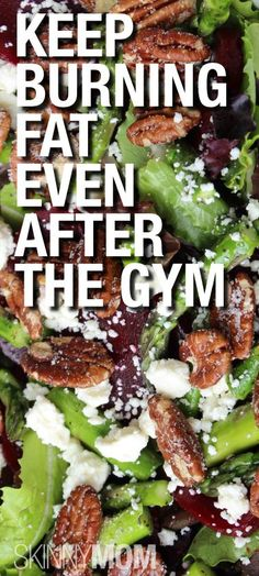 What you eat after a workout is very important!