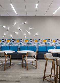 LPL Financial - San Diego Offices: A great example of break room design! Corporate Office Design, Office Space Design, Corporate Interiors, Workplace Design, Office Interior Design, Office Interiors, Home Interior, Commercial Design, Commercial Interiors