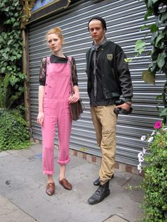 Want Pink overalls NOW!